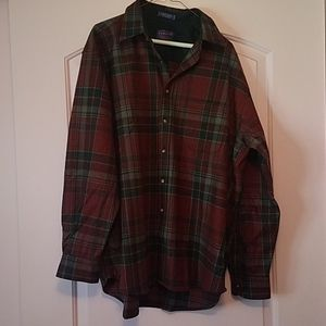 Men's Pendleton Wool Button Down Shirt